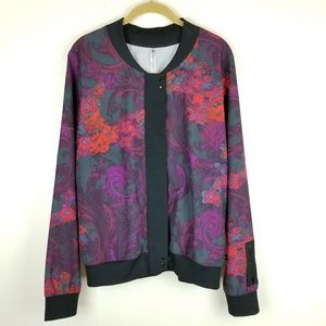 Fabletics Floral Light-weight Jacket